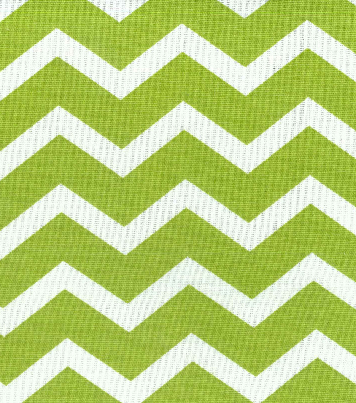 45\'\' Home Essentials Print Fabric- Chevron Green | JOANN
