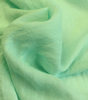 Gauze Cotton Shirting Fabric 56\u0022-Mint