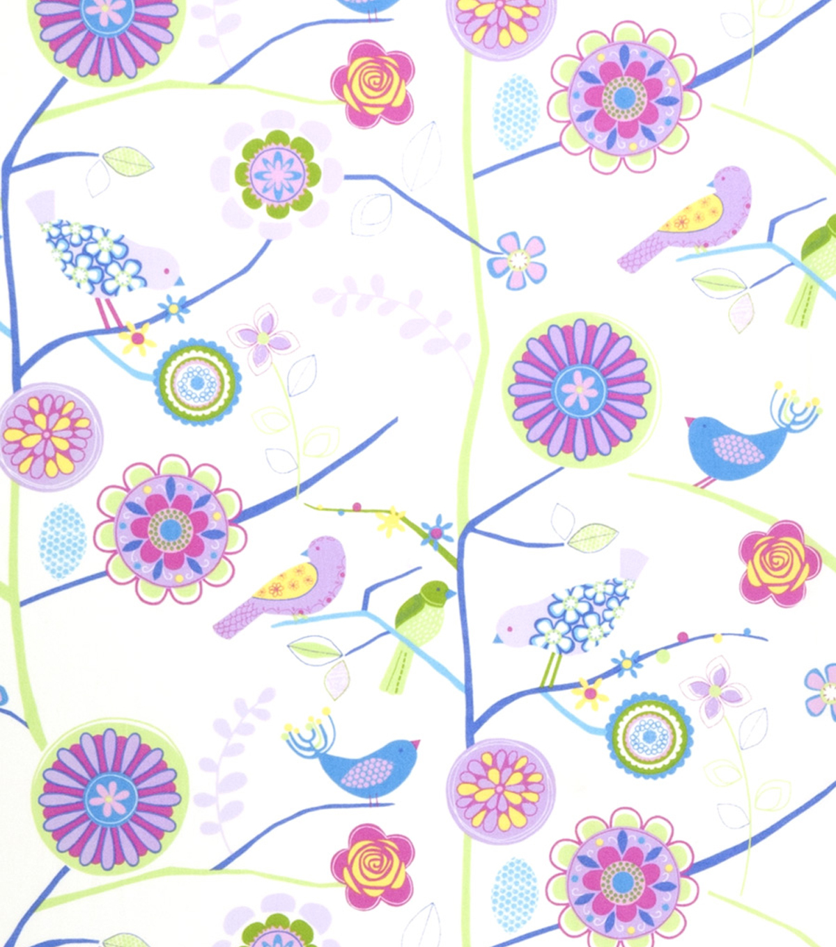 "Home Decor 8""x8"" Fabric Swatch-Print Fabric Eaton Square Draw  Petal"
