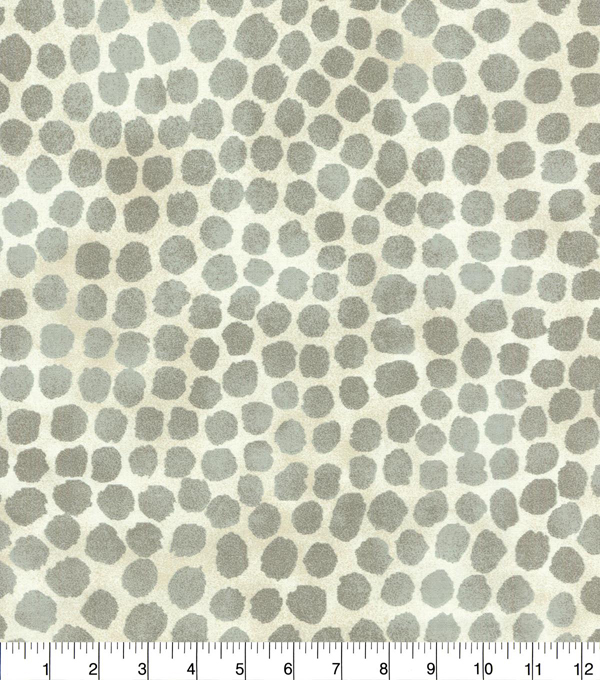 Genevieve Gorder Upholstery Fabric 54''-Steam Puffy Dotty