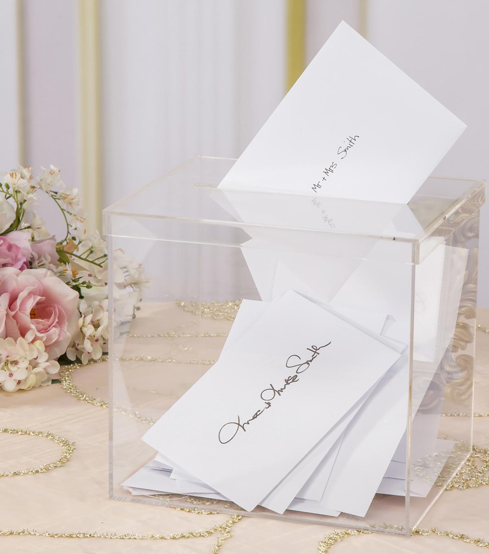 david tutera acrylic card box with slit on lid joann Wedding Card Box Joanns Wedding Card Box Joanns #8 joann's wedding card box