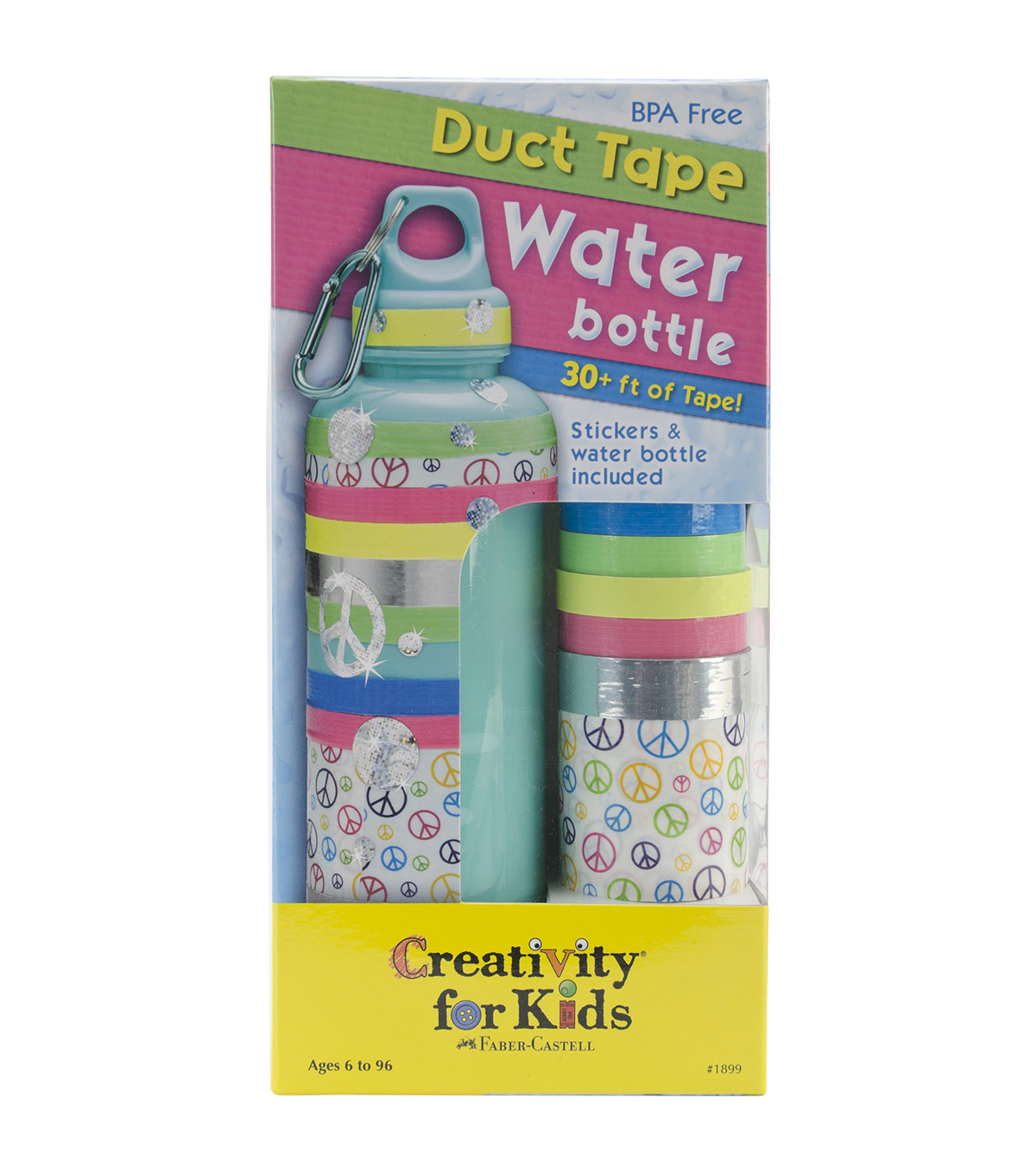 Creativity For Kids Duct Tape Water Bottle Kit