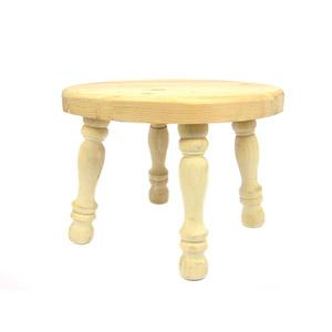 Footstool Round Top