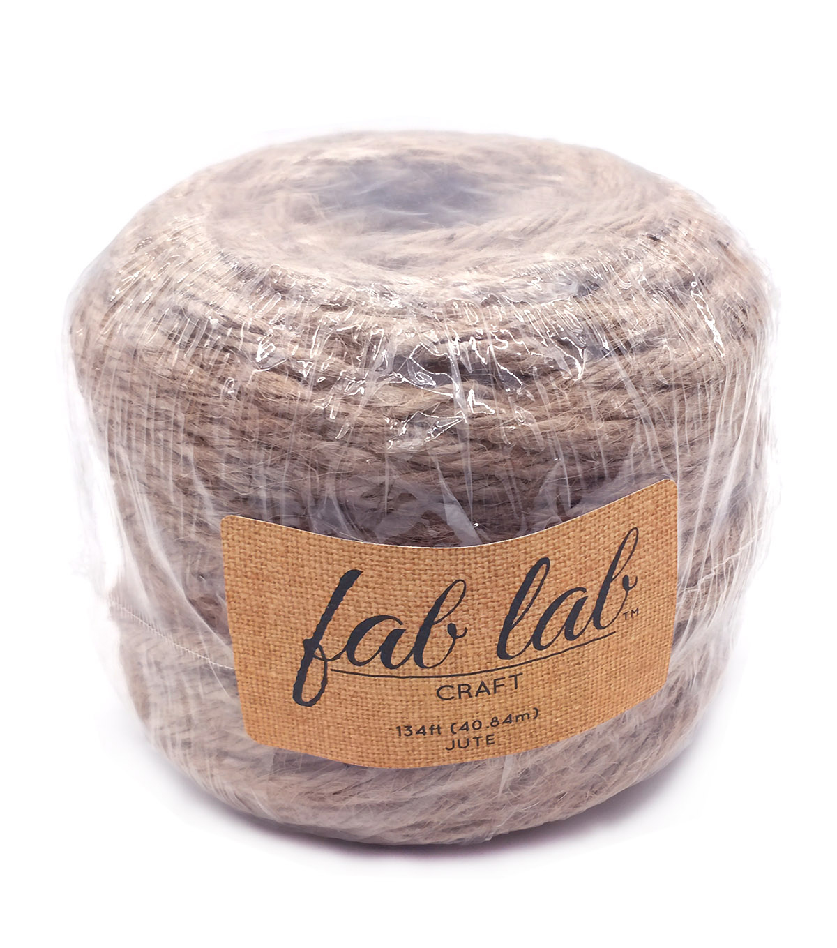 Craft Designer Jute 4 Ply 1lb 135\u0027-Natural