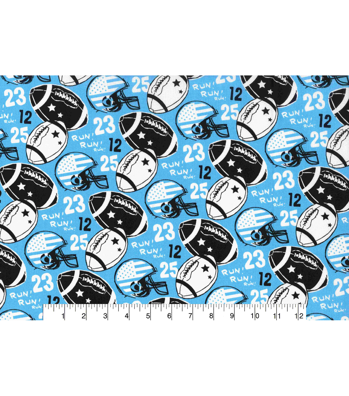 Novelty Cotton Fabric-Football