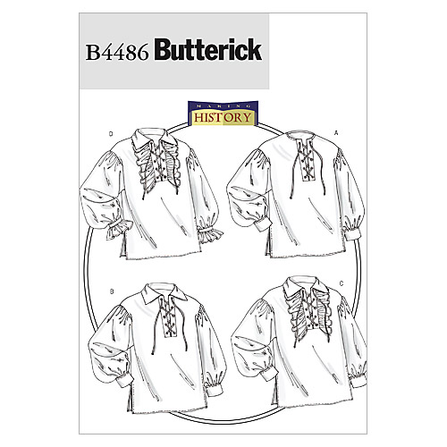 Butterick Adult Historical Costumes-B4486