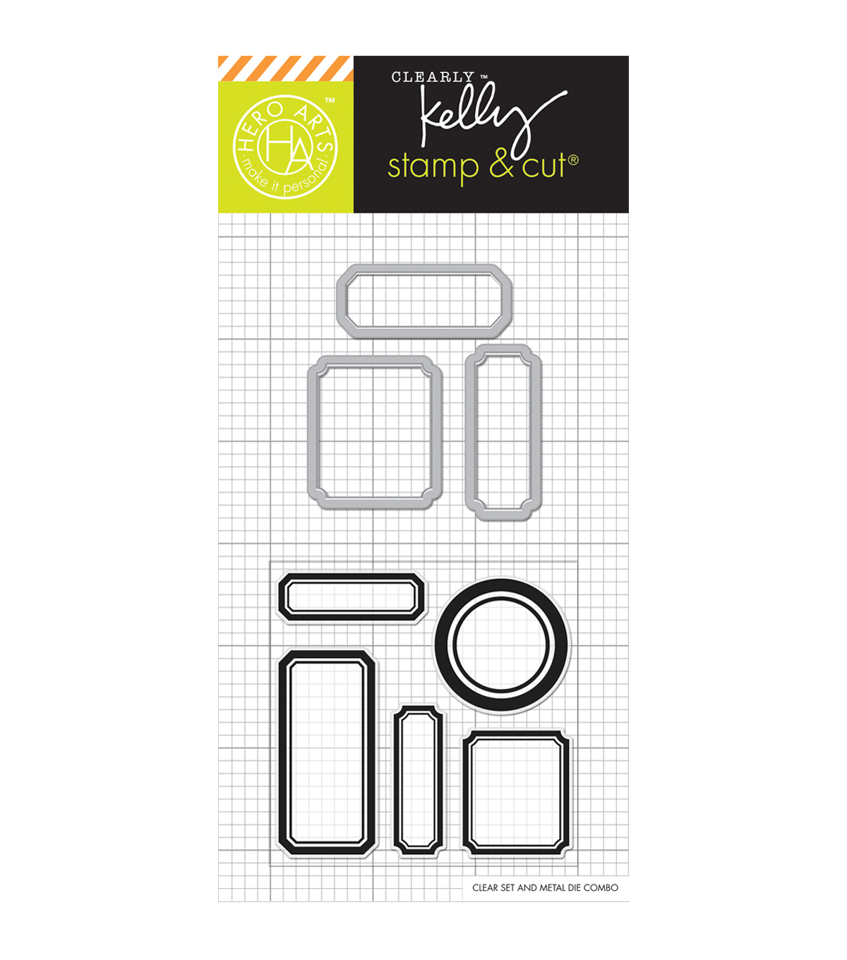Hero Arts® Kelly\u0027s Stamp & Cut-Labels