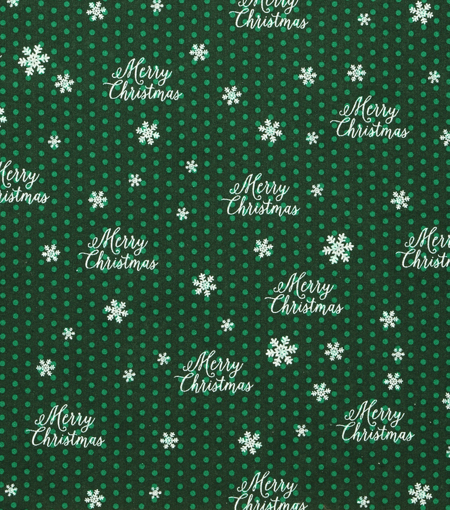 "Holiday Showcase™ Christmas Cotton Fabric 43""-Merry Christmas"