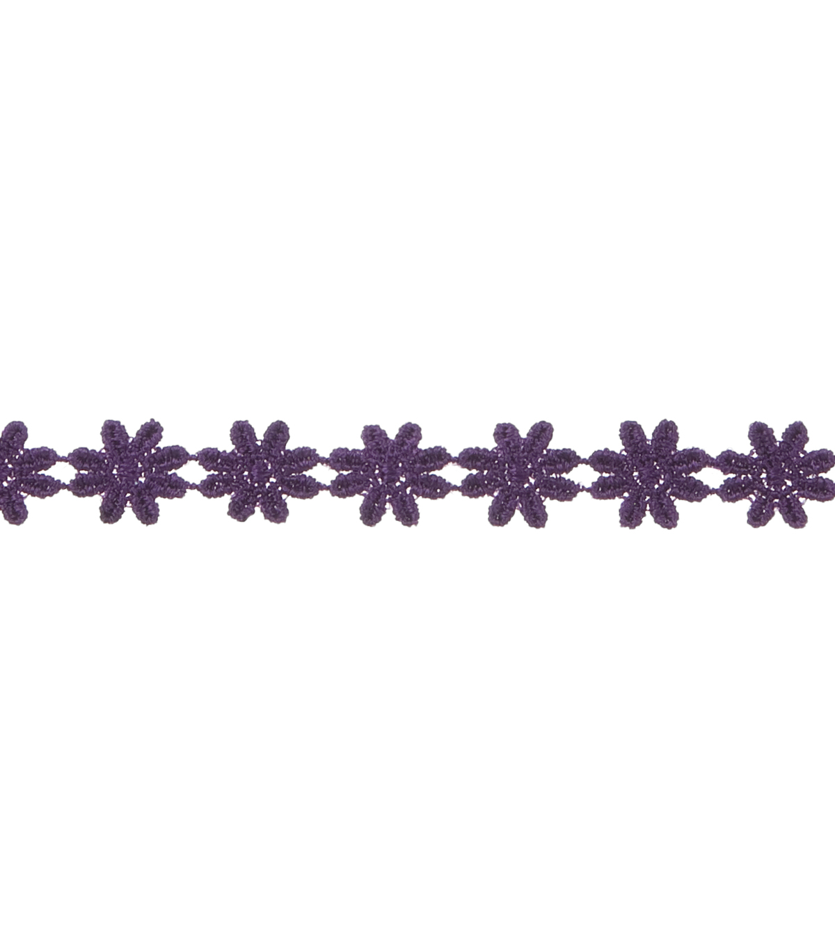 Daisy Chain Purple 2 Yds Apparel Trim