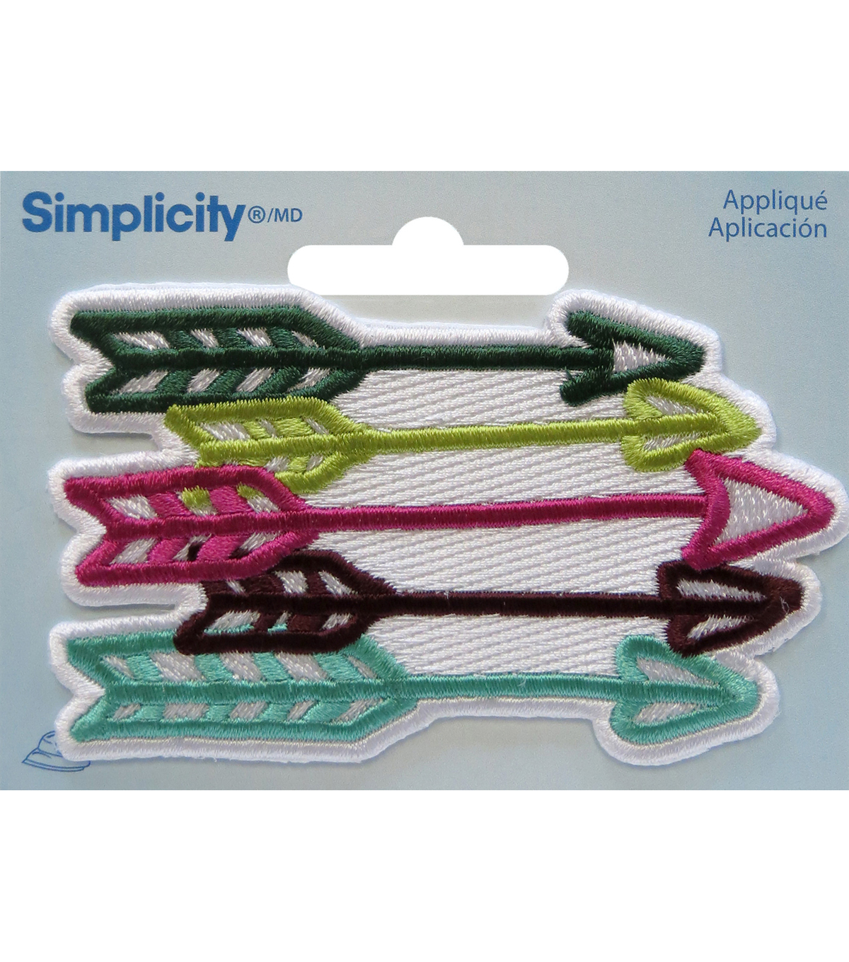 Simplicity® Embroidered Iron-On Applique-Arrows