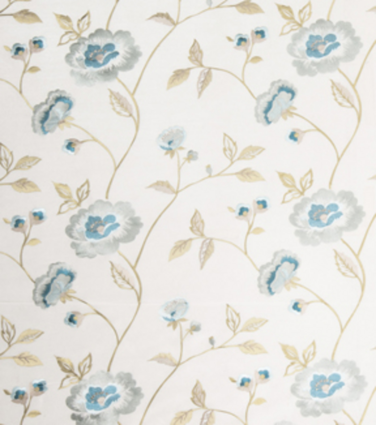 "Home Decor 8""x8"" Fabric Swatch-Print Fabric Eaton Square Rhodes Mist"