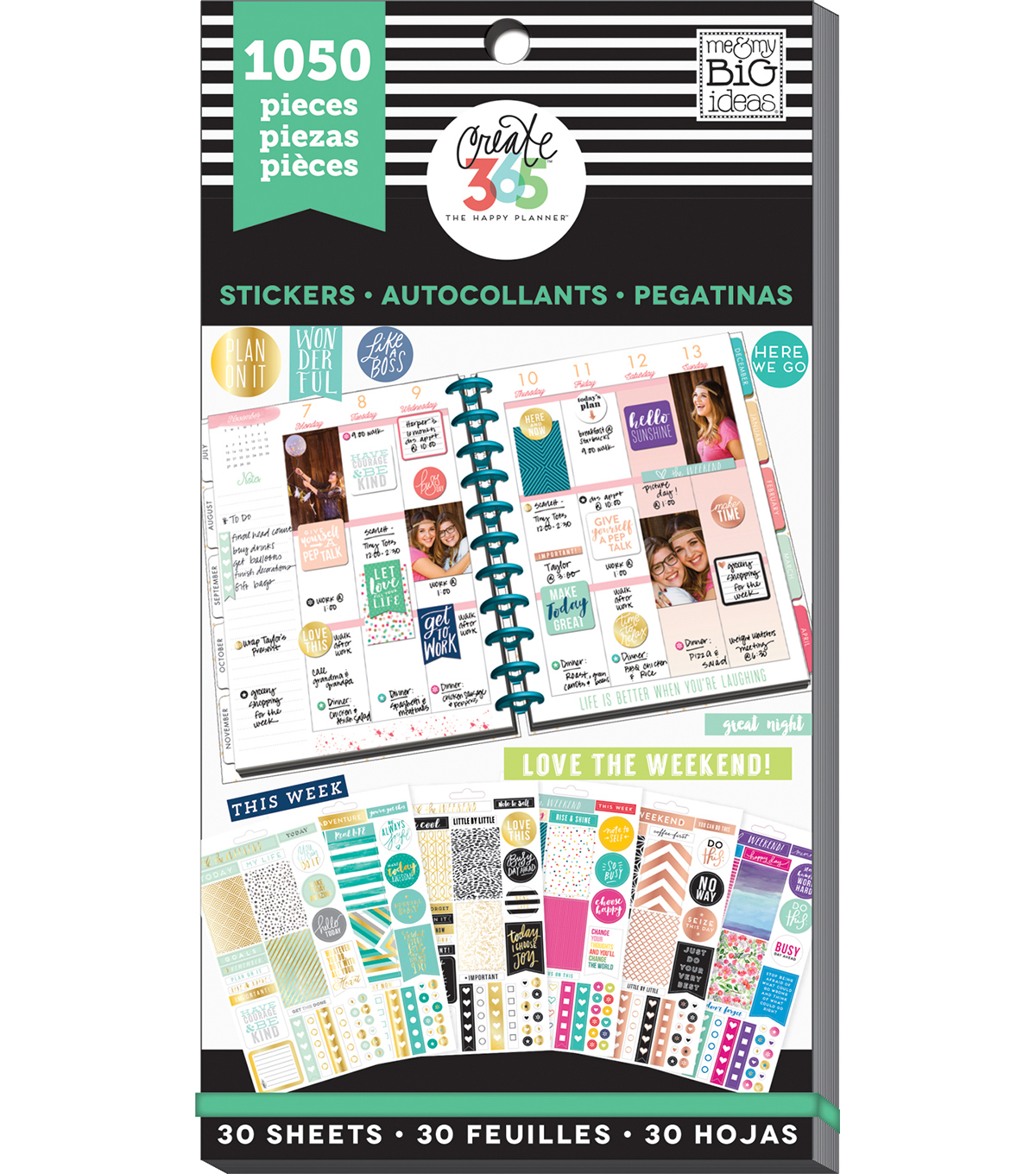 Create 365 The Happy Planner™ Value Pack-Colorful Life