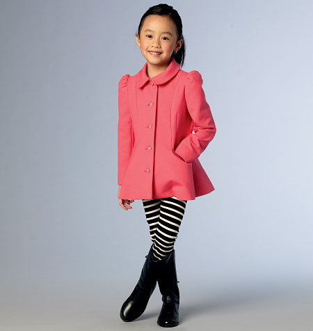 Vogue Patterns Child Outerwear-V9043