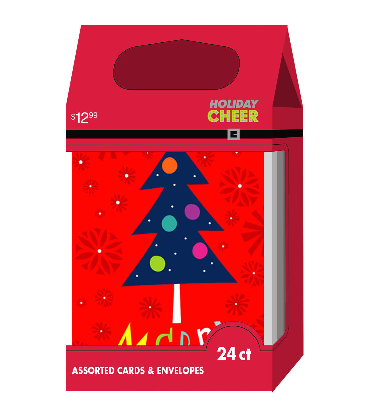 Holiday Cheer $12.99 Hi Count Whimsey Cards