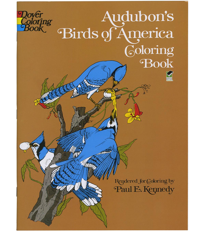 Adult Coloring Book Dover Publications Audubonu0027s Birds Of America