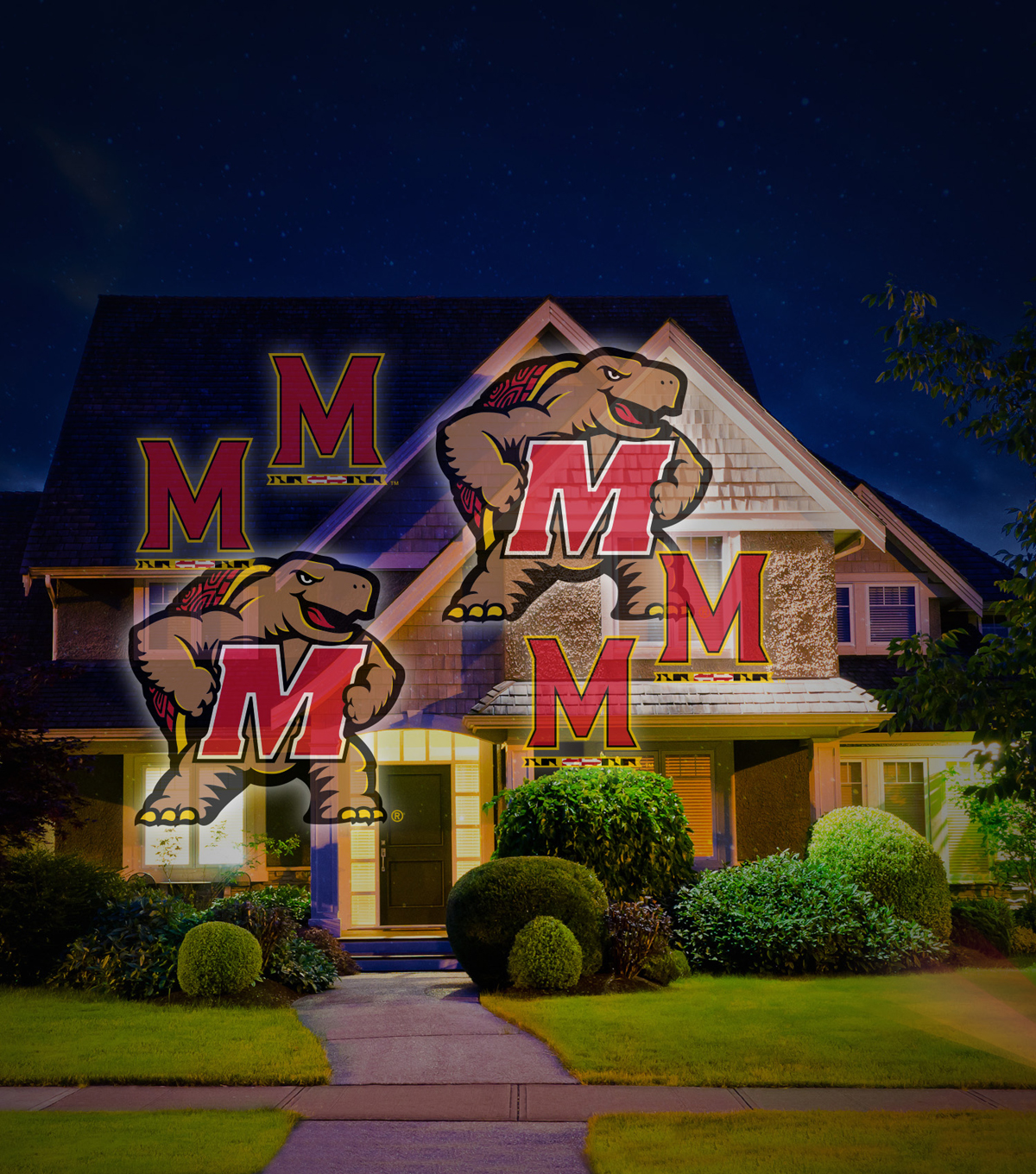 University of Maryland Team Pride Light Projector