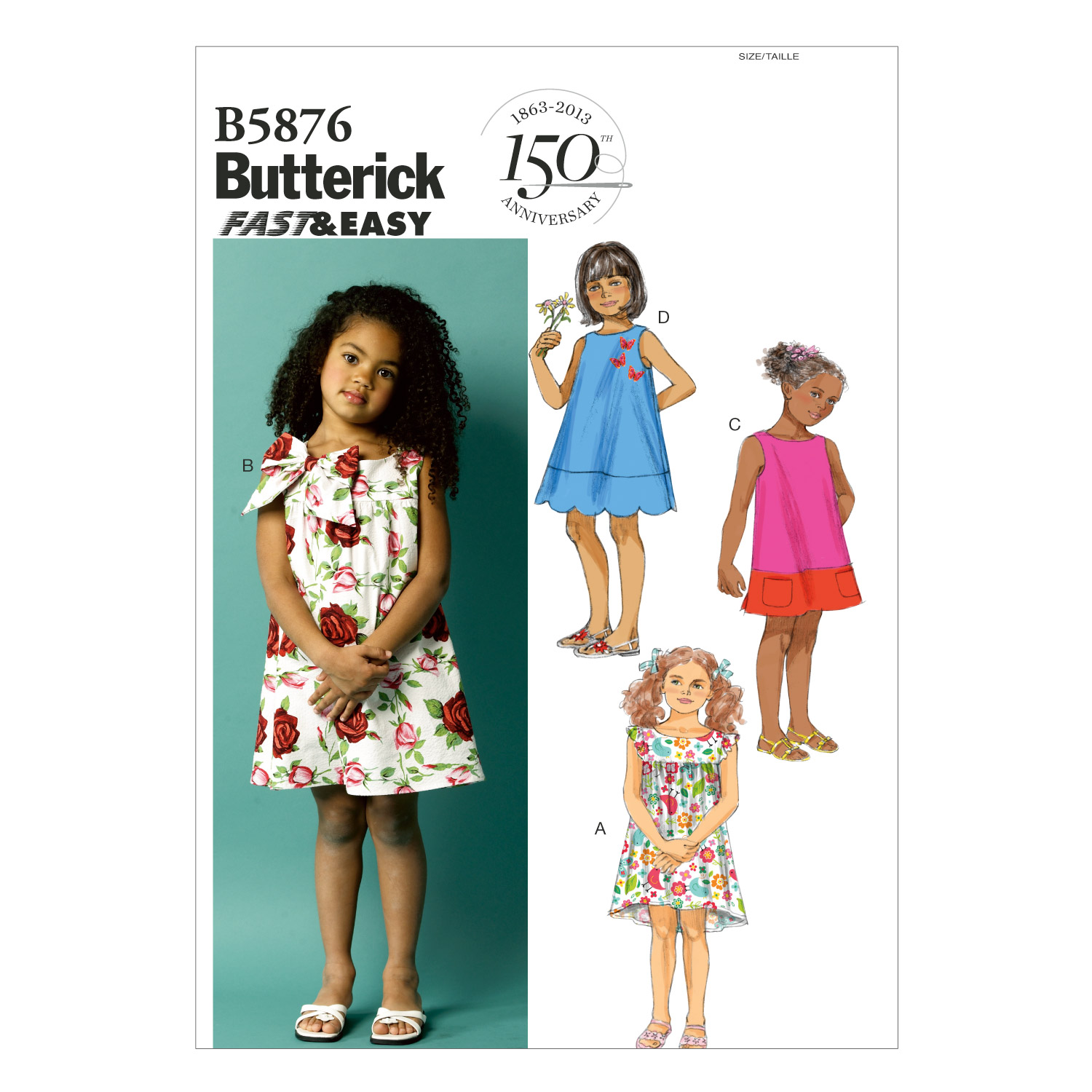 Butterick Children's Dress-B5876