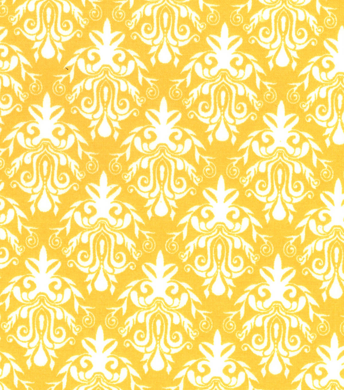 Quilter's Showcase™ Fabric 44''-Amber Yellow Damask