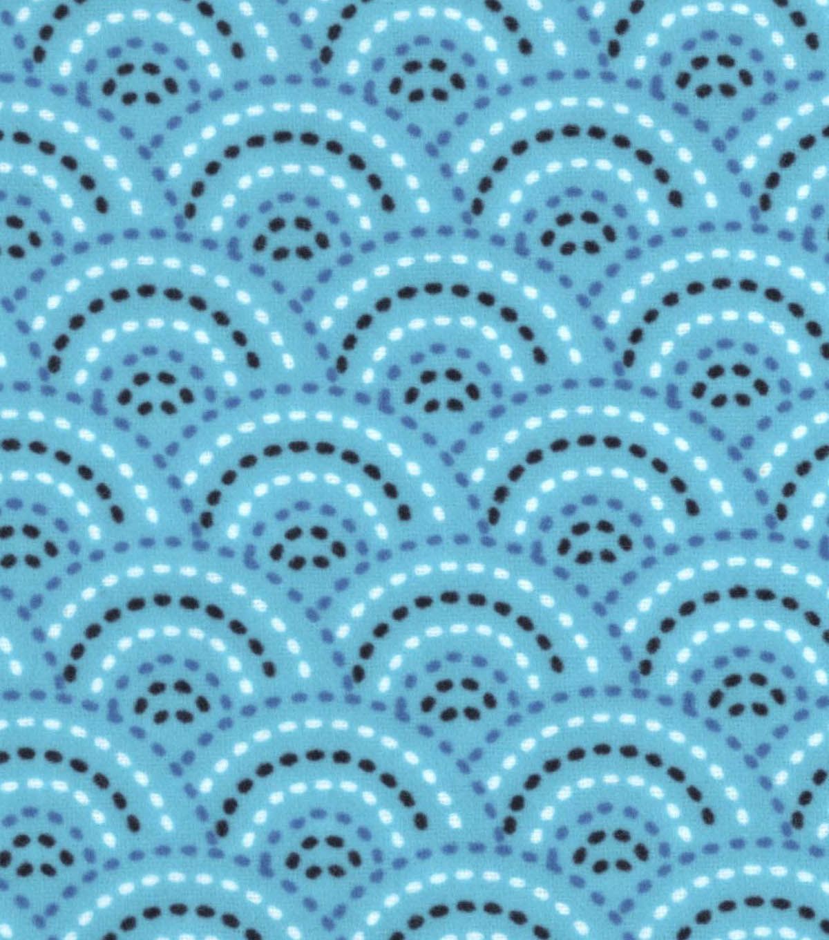 Snuggle Flannel Fabric 42\u0022-Peacock Dotted Scales