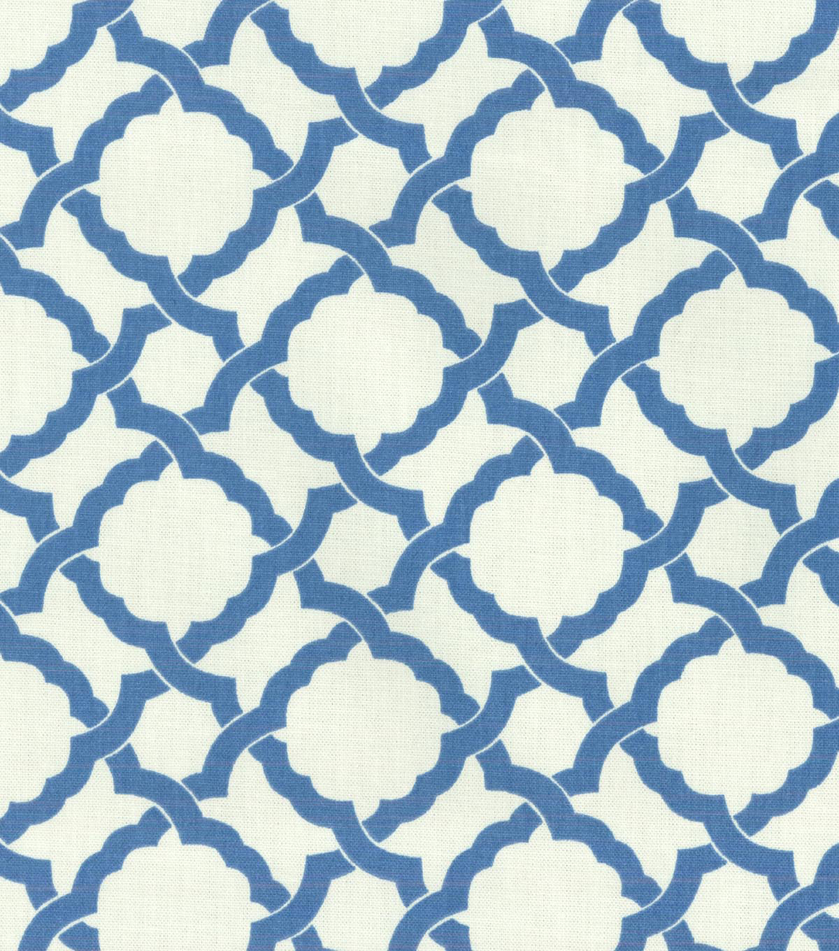 "Home Decor 8""x8"" Swatch Fabric-Waverly Kent Crossing Cornflower"