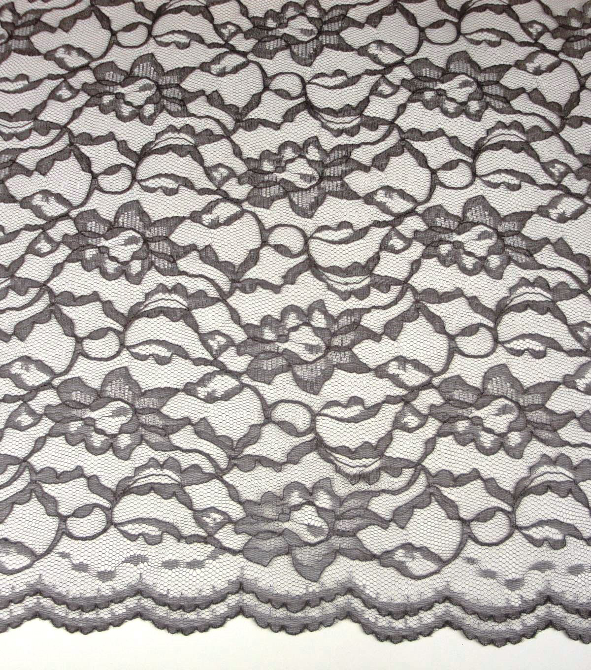 "Casa Collection™ Lace Fabric 58""-Plum Kitten"