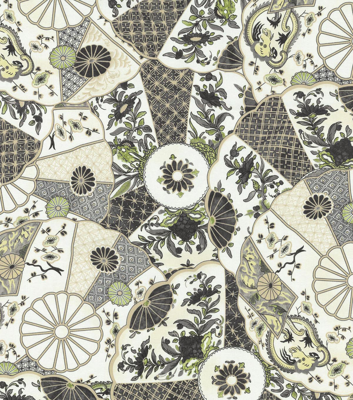 Home Decor 8\u0022x8\u0022 Swatch Fabric-Williamsburg Imari Licorice