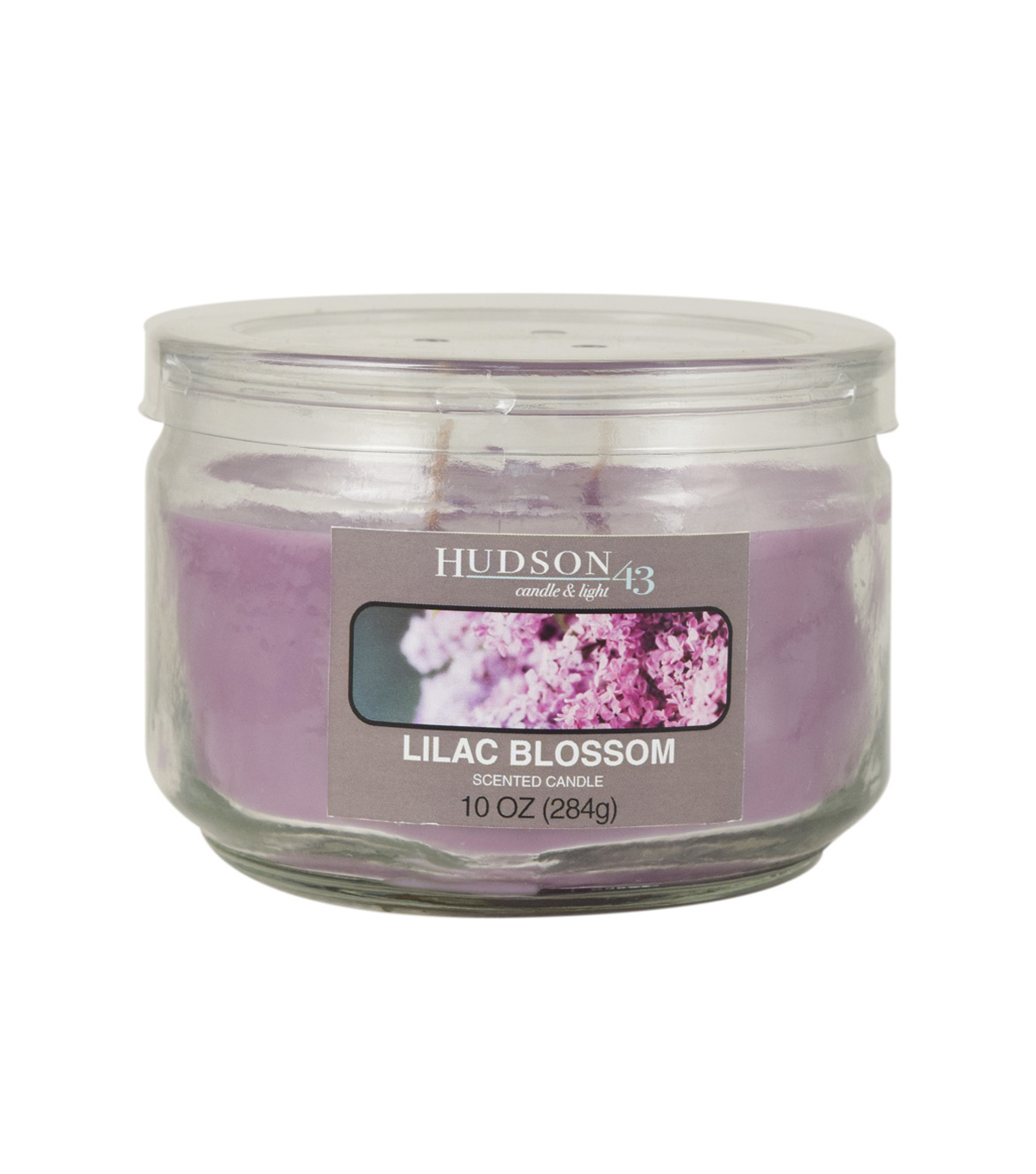 Hudson 43™ Candle & Light Collection 10oz  Value Jar Lilac Blossom