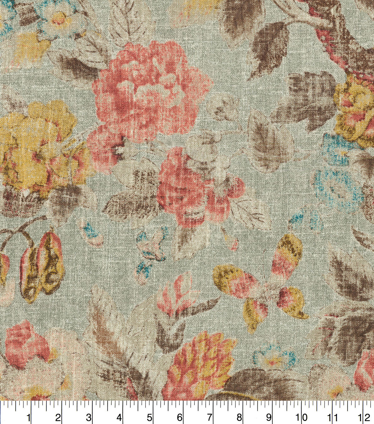 Waverly Upholstery Fabric 54''-Twilight After Glow