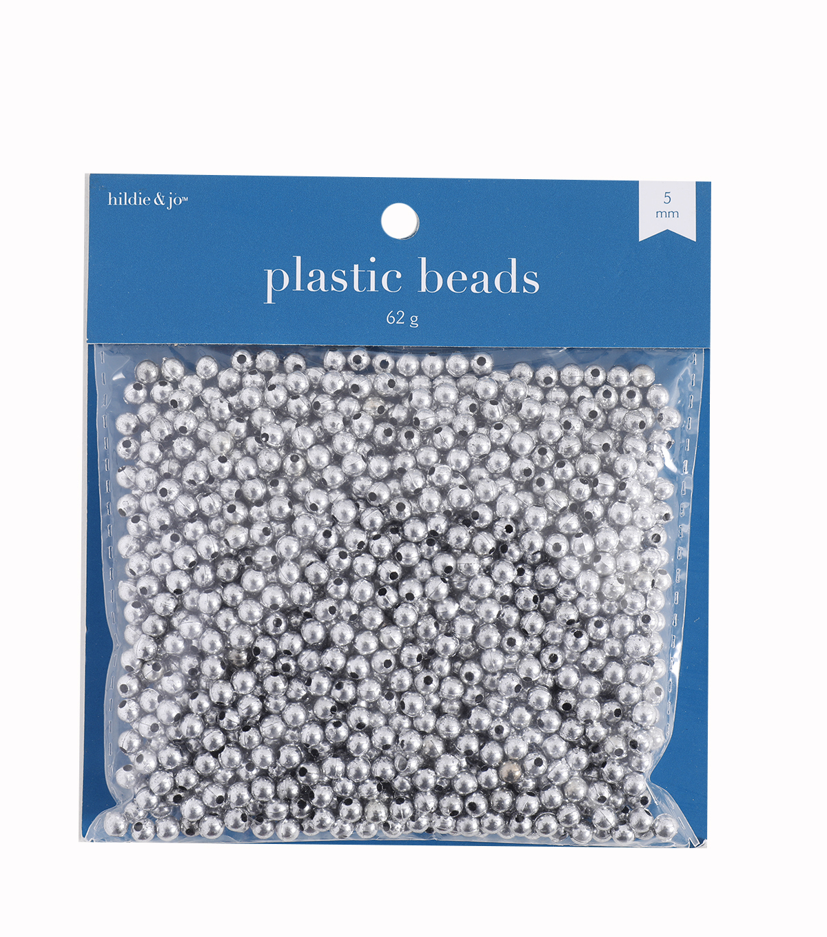 Darice® 5mm Round Pearls-1000PK/Silver