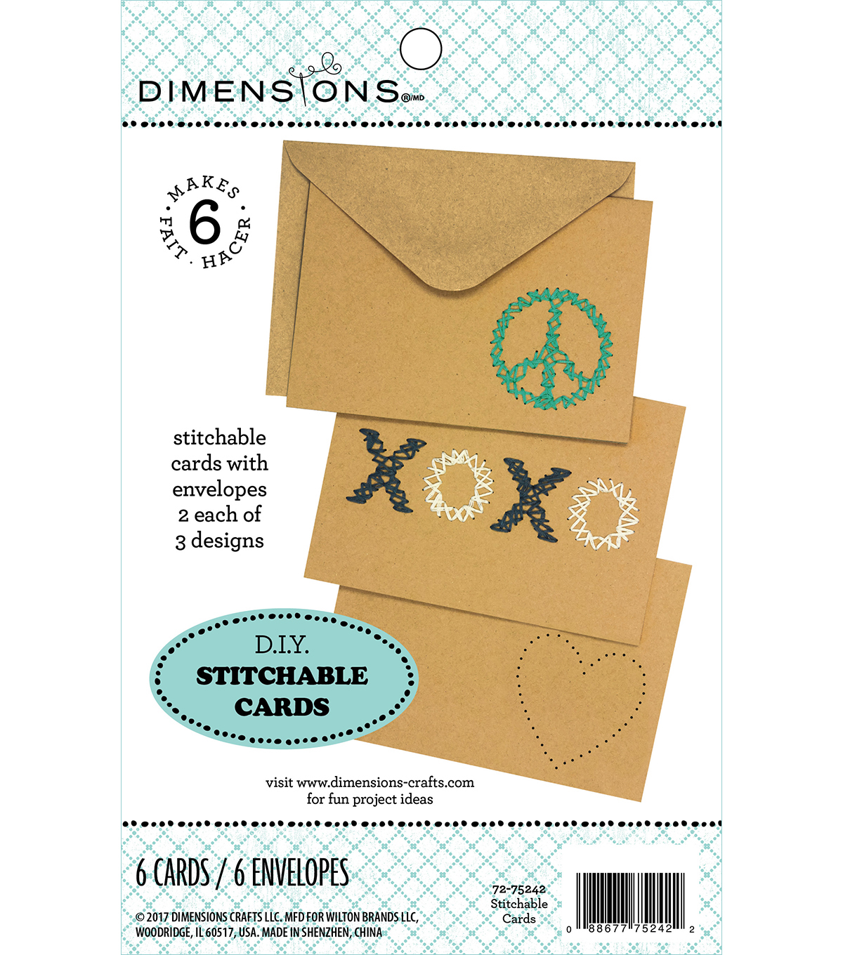 Dimensions® DIY Stitchable Cards
