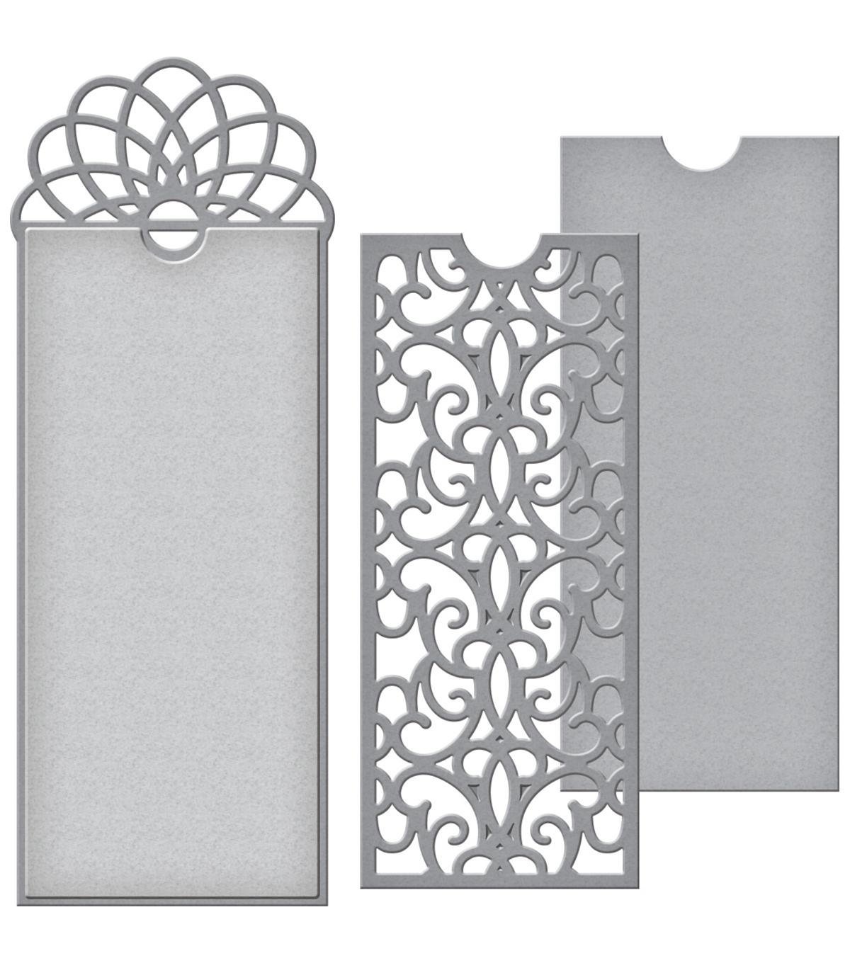 Spellbinders® Shapeabilities® Etched Die-Filigree Bookmark Tag
