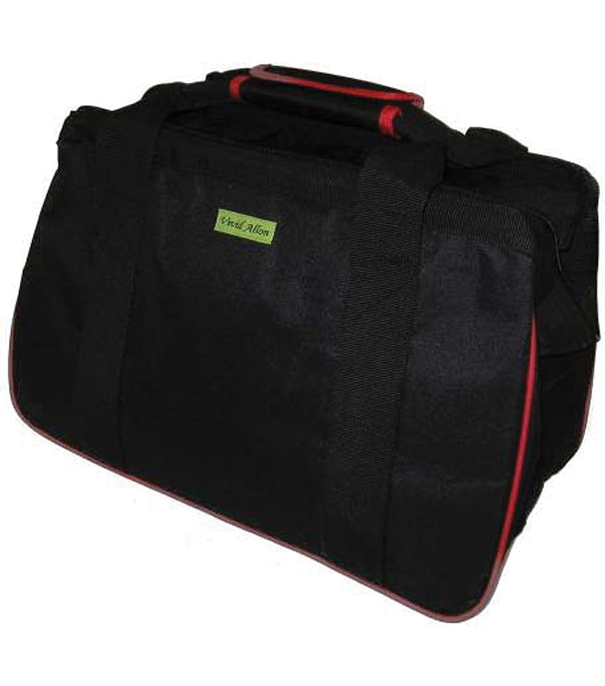 JanetBasket Eco Bag-Black/Red