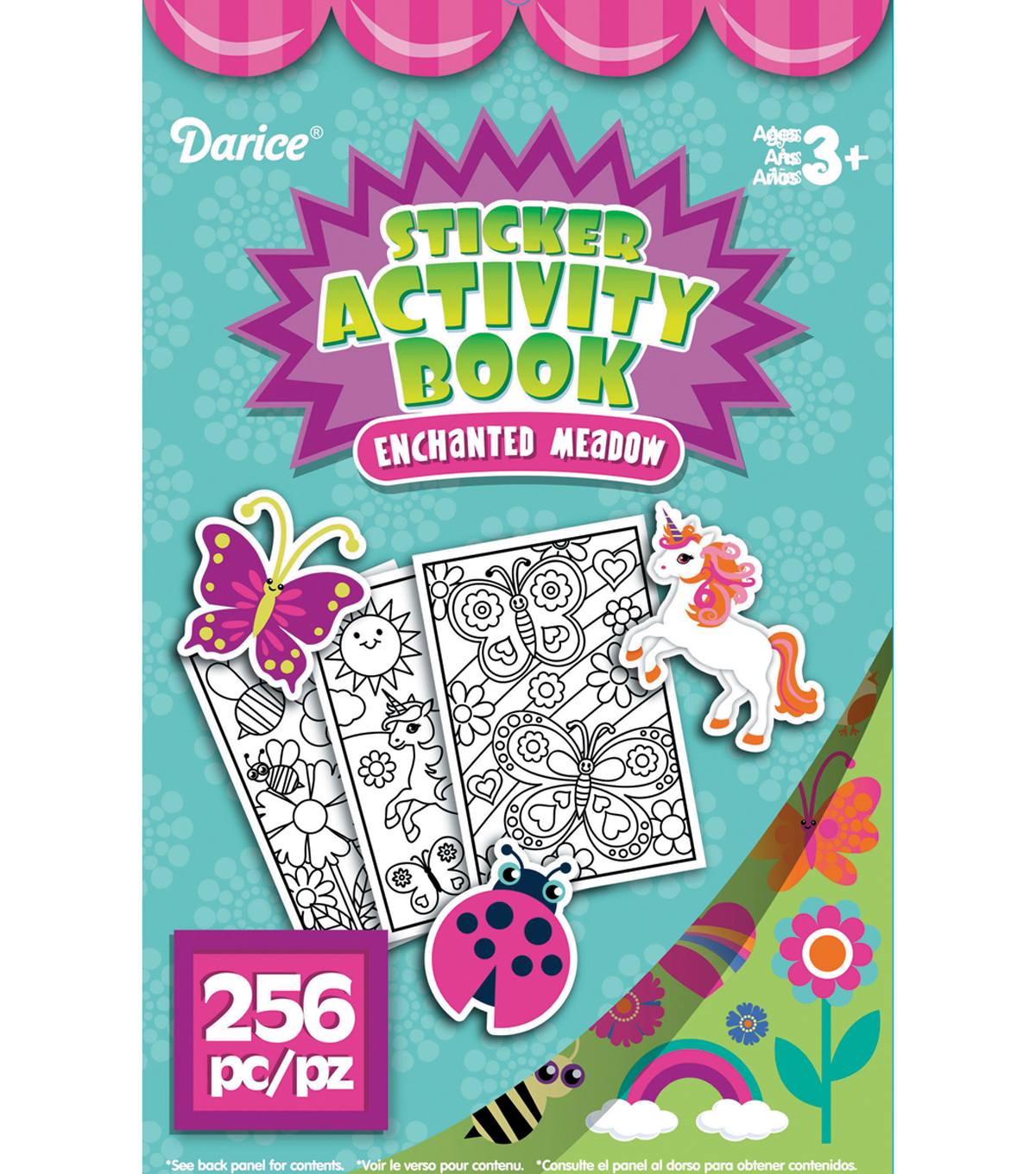Sticker Book 9.5\u0022X6\u0022-Meadow 256/Pkg