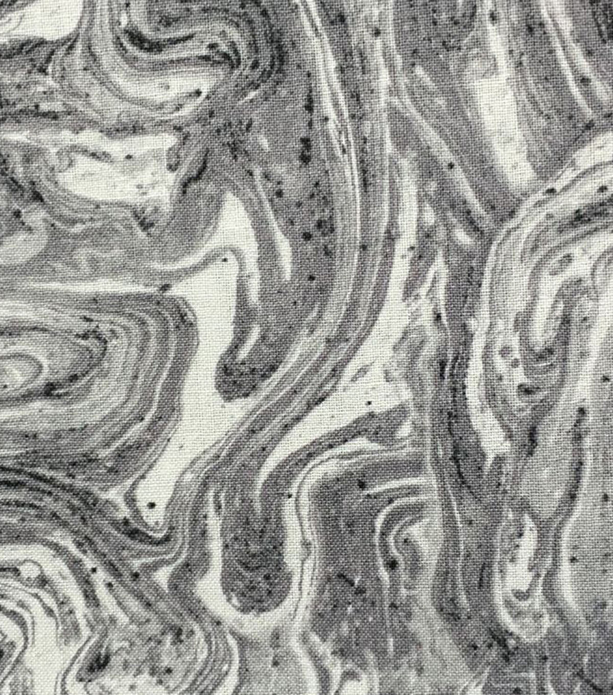 Keepsake Calico™ Cotton Fabric-Oil Slick Gray