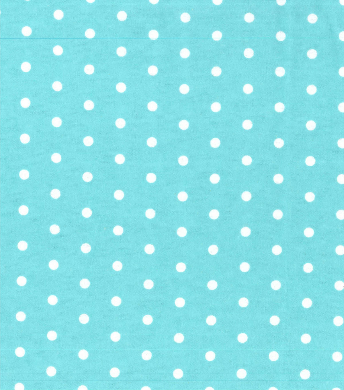Snuggle Flannel Fabric 42''-White Dots on Blue
