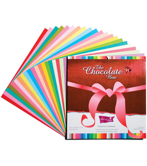 Core'dinations 12''x12'' Cardstock-20PK/Chocolate Box