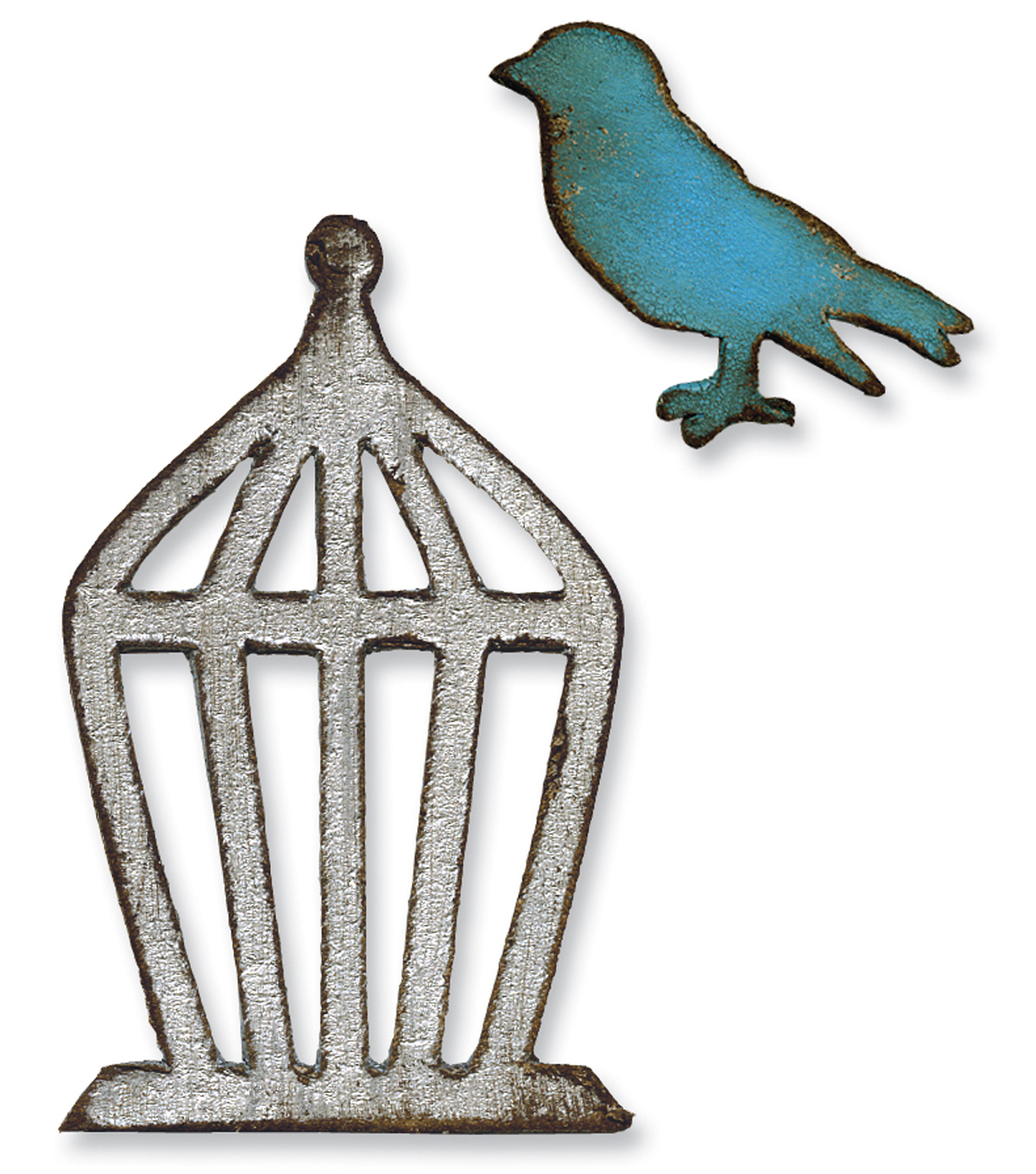 Sizzix Movers & Shapers Magnetic Die Bird & Cage