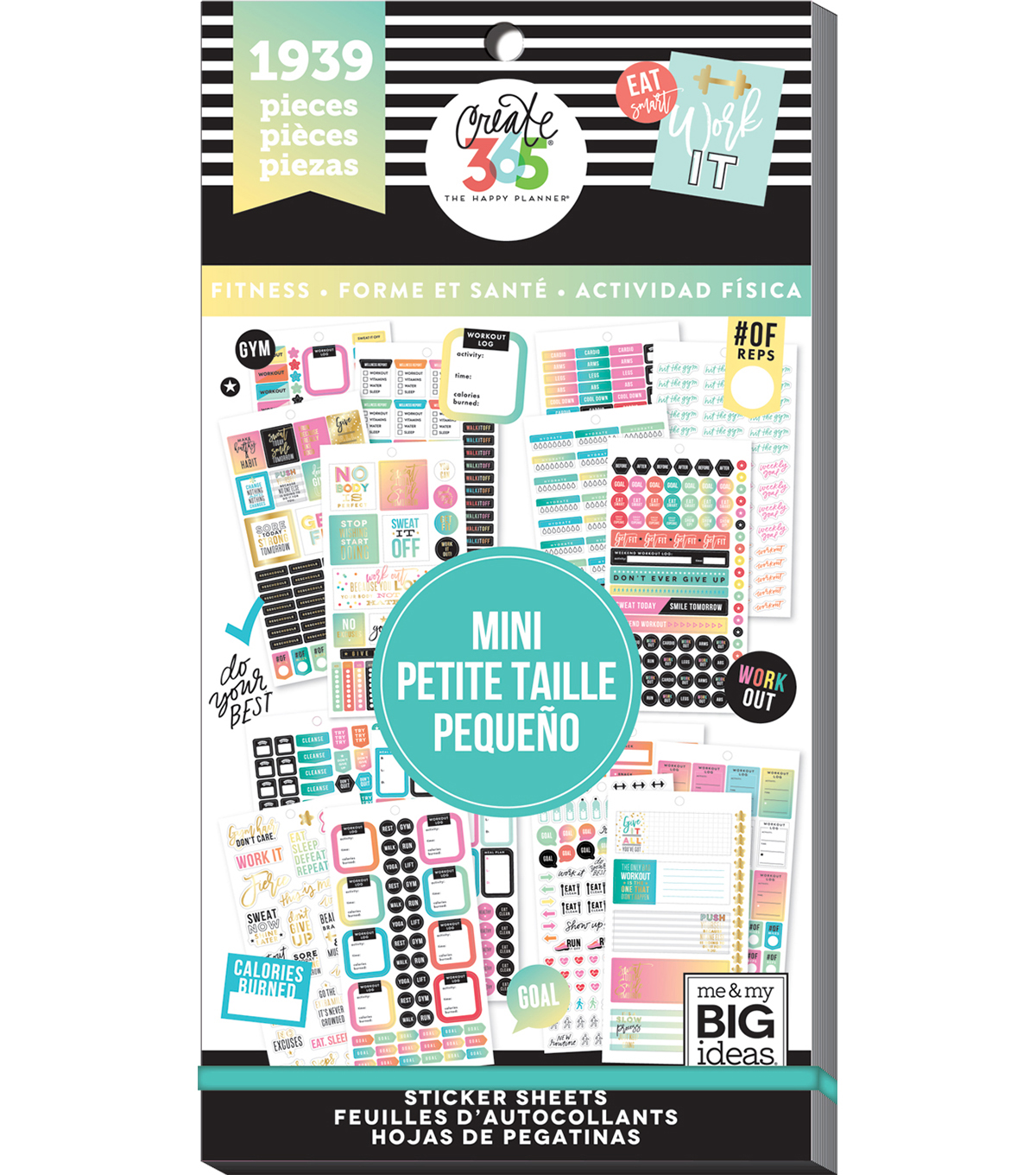 Create 365 The Happy Planner™ Mini Value Pack-Work it Out