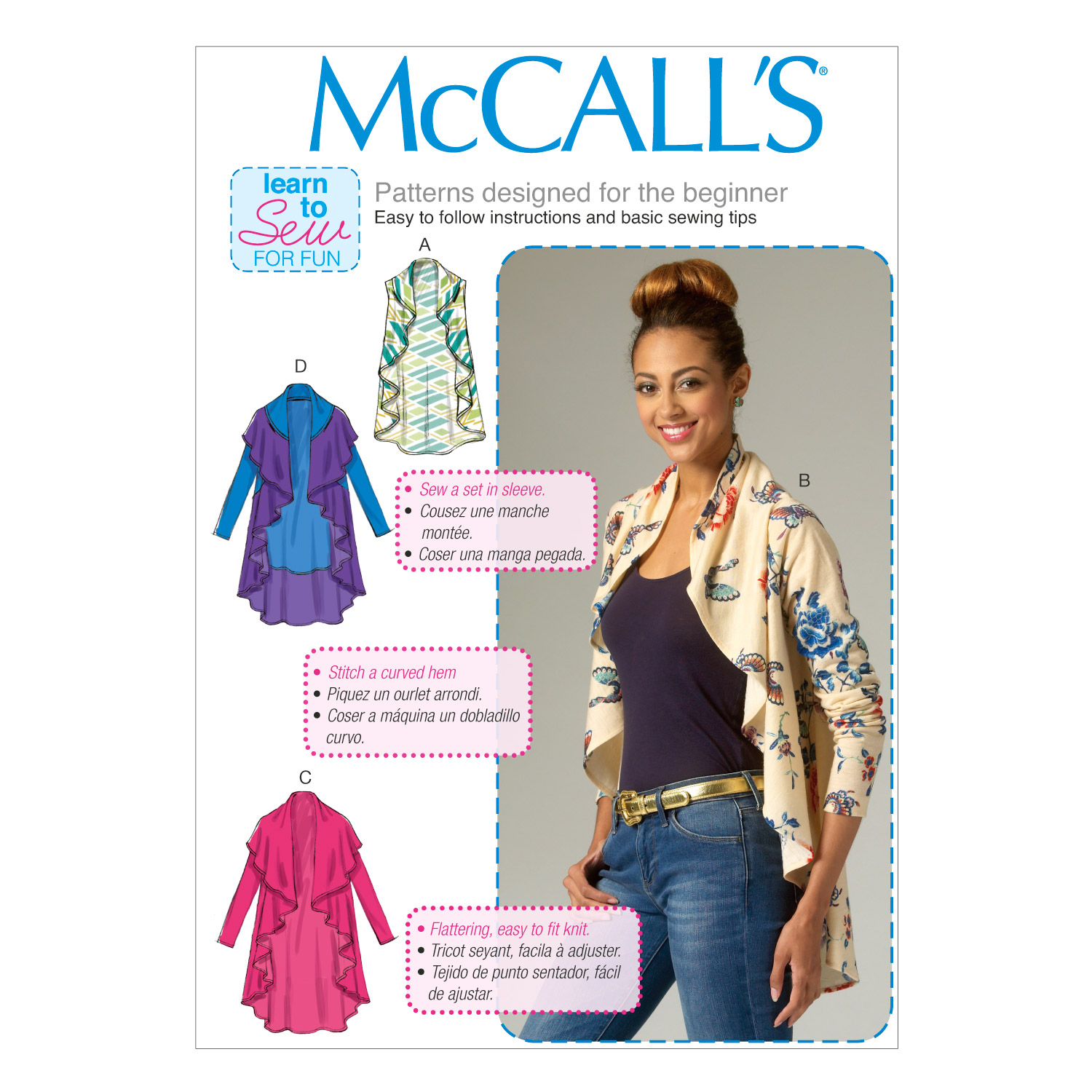 McCall's Misses Jacket-M7055