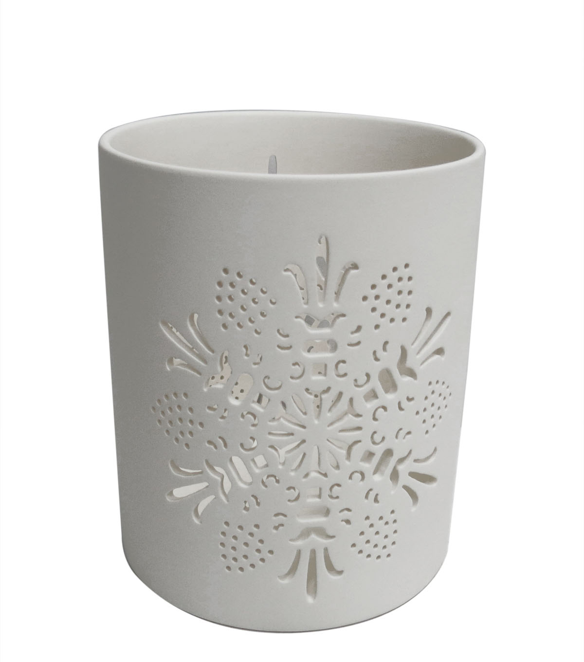 Maker\u0027s Holiday Christmas Large Porcelain Canister
