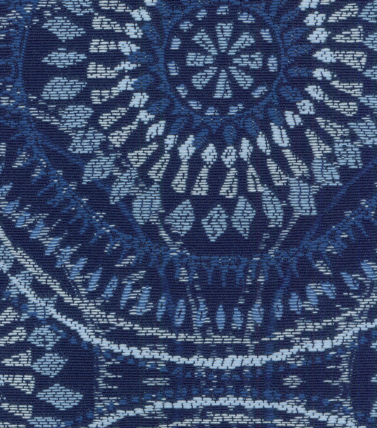 Kelly Ripa Home Upholstery Fabric 54\u0027\u0027-Bluejay Spiral Graph