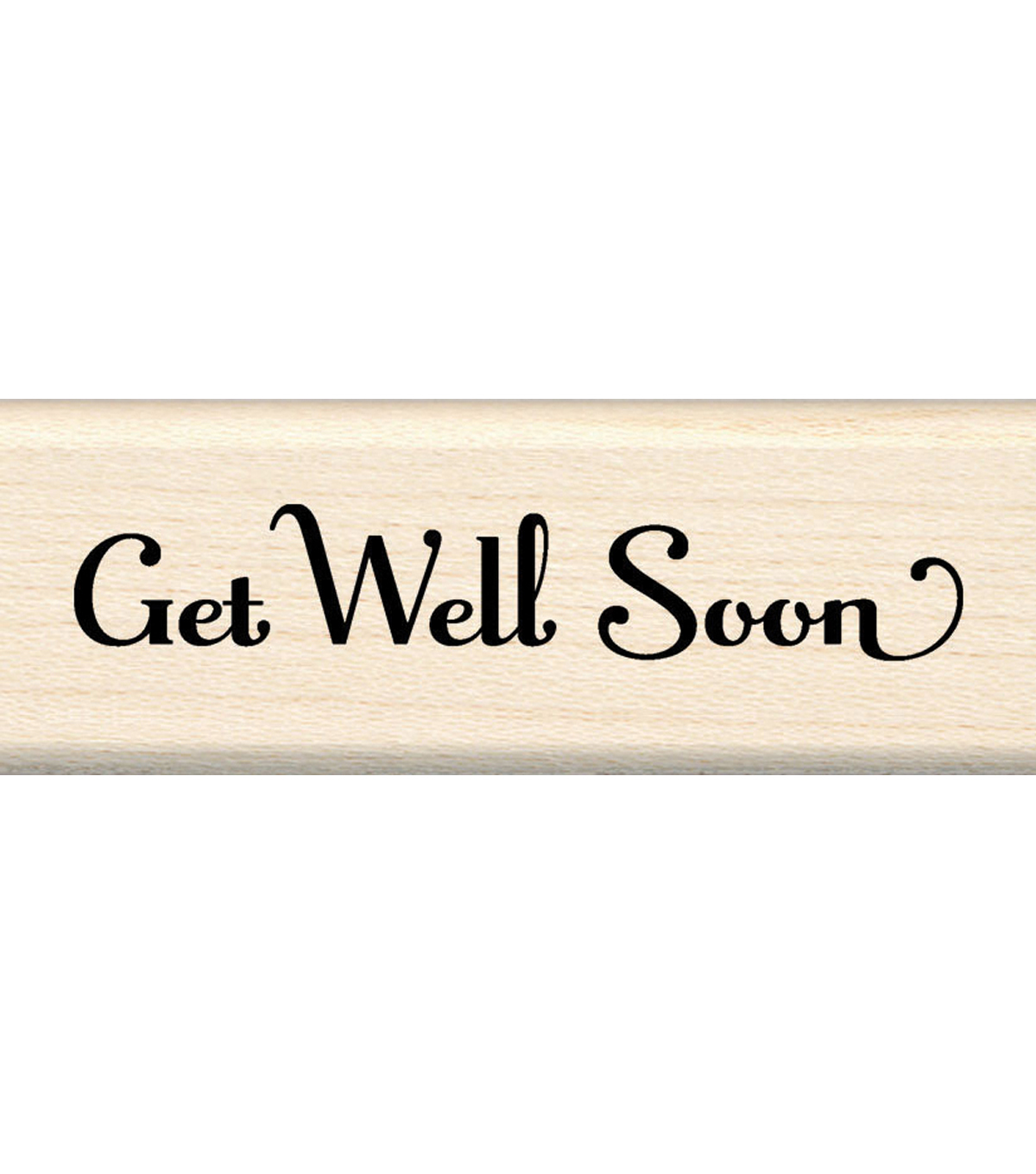 Inkadinkado Rubber Stamp-Get Well Soon