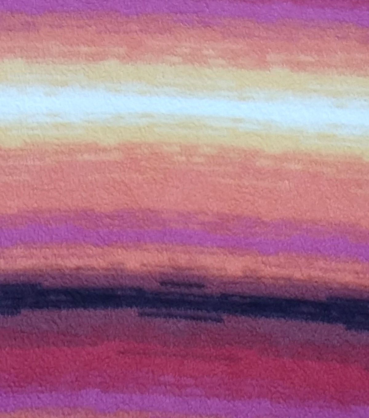"Anti-Pill Fleece Fabric 59""-Sunset Multi"