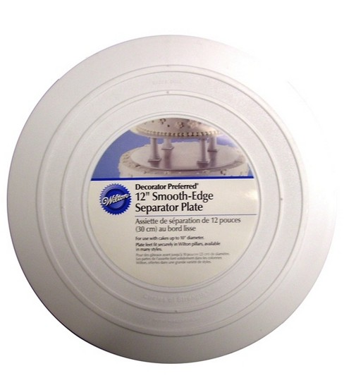 Wilton® Smooth Edge Separator Plate 8\u0022