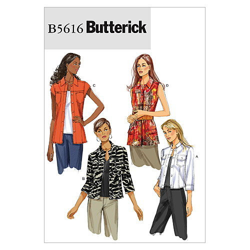 Butterick Misses Jacket-B5616
