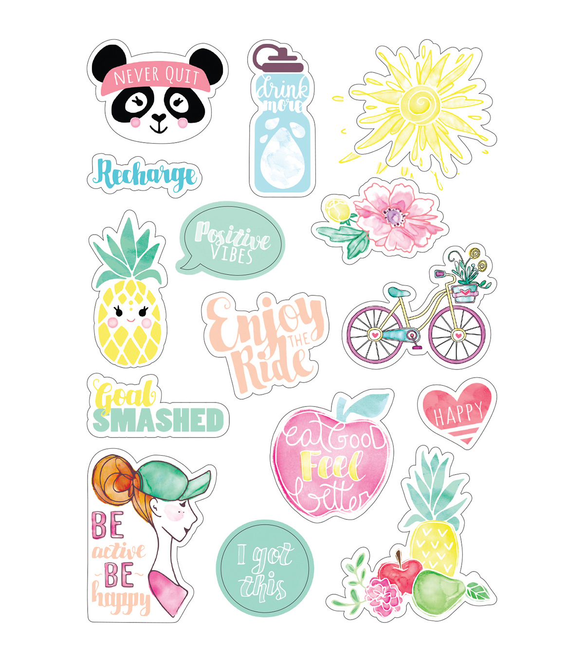 Sizzix® Katelyn Lizardi 2 Pack Stickers-Planner Page Icons #2