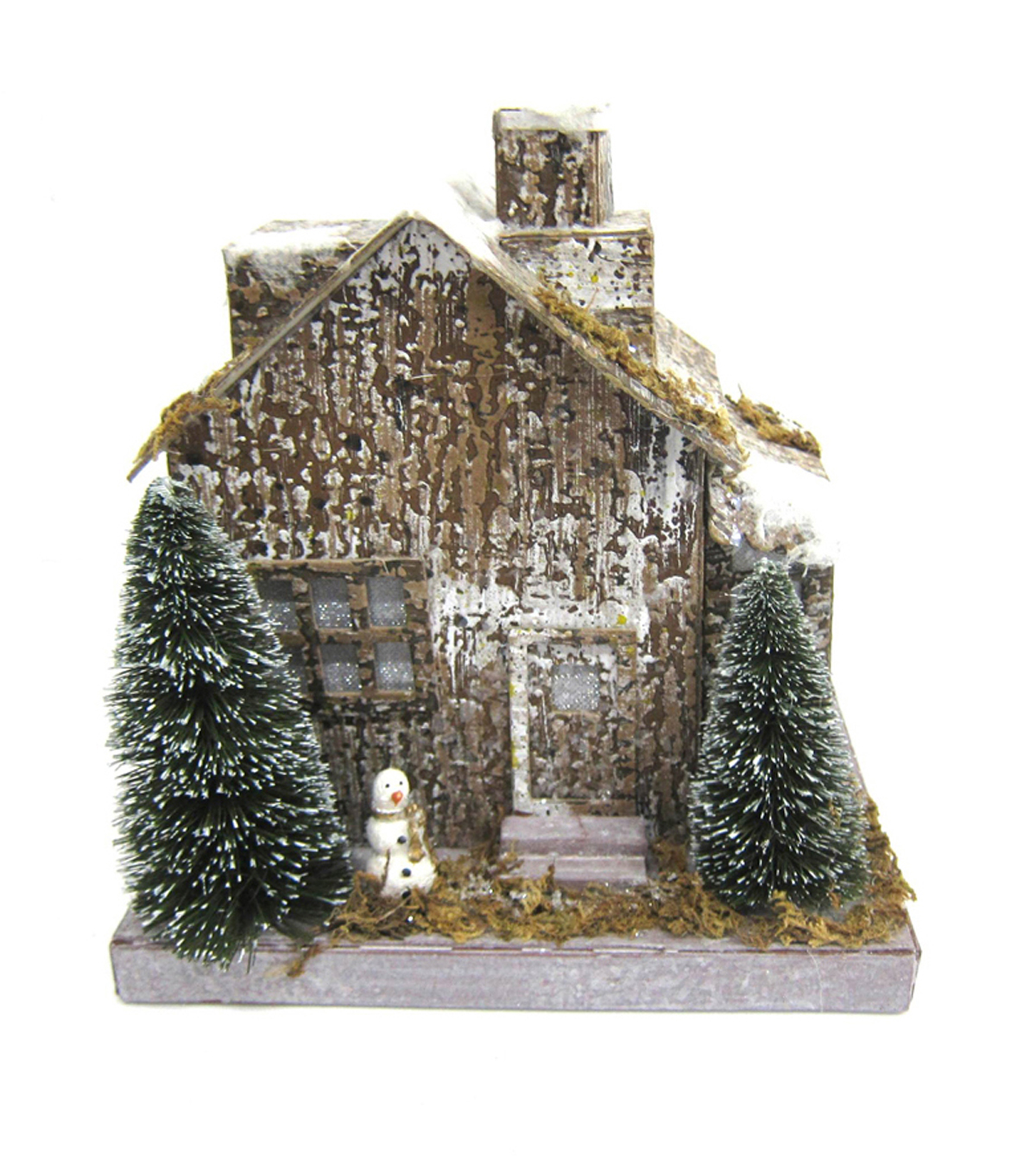 Maker\u0027s Holiday Woodsy LED House