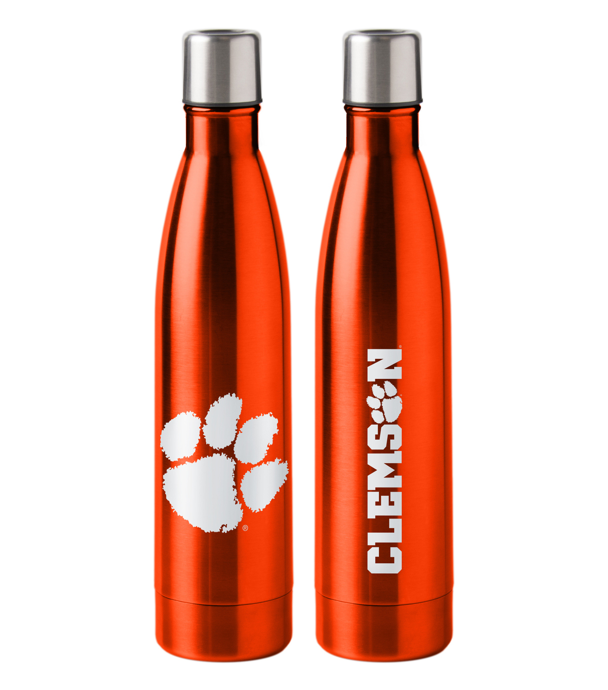Clemson University Tigers 18 oz Insulated Stainless Steel Water Bottle