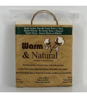"The Warm Company Warm And Natural Cotton Batting 34""x45"""
