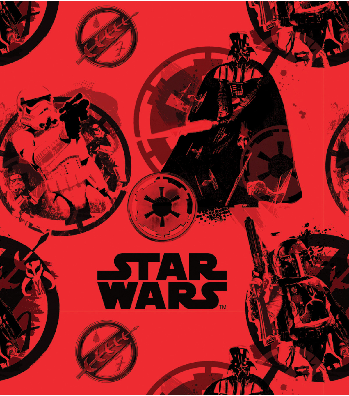 Star Wars™ Fleece Fabric 58\u0022-Danger